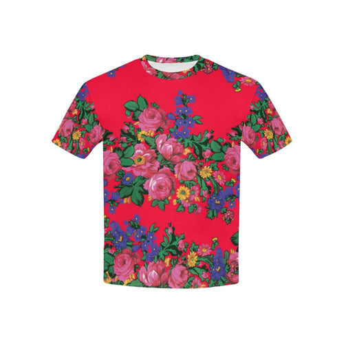 Kokum's Revenge- Dahlia Kids' All Over Print T-shirt (USA Size) (Model T40) All Over Print T-shirt for Kid (T40) e-joyer
