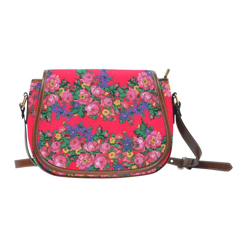 Kokum's Revenge- Dahlia Saddle Bag/Large (Model 1649) Saddle Bag/Large e-joyer