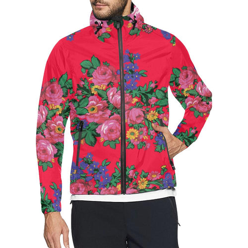 Kokum's Revenge Dahlia Unisex All Over Print Windbreaker (Model H23) All Over Print Windbreaker for Men (H23) e-joyer
