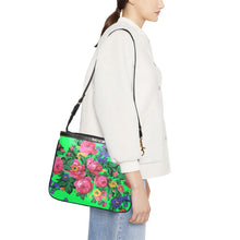 Kokum's Revenge Green Small Shoulder Bag (Model 1710) Small Shoulder Bag (1710) e-joyer