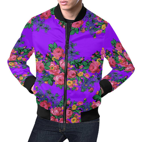 Kokum's Revenge-Lilac All Over Print Bomber Jacket for Men/Large Size (Model H19) All Over Print Bomber Jacket for Men/Large (H19) e-joyer
