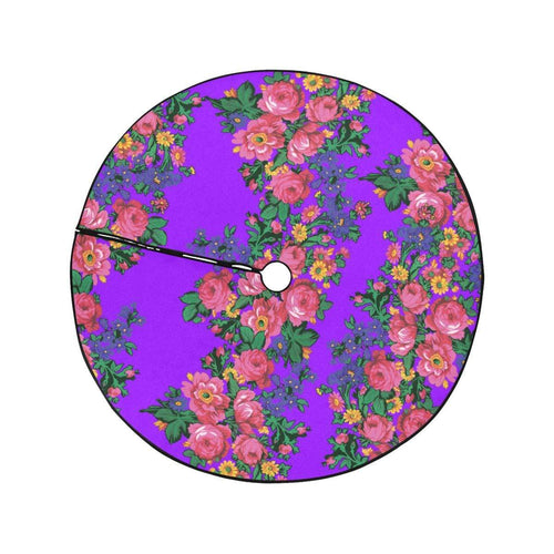 Kokum's Revenge-Lilac Christmas Tree Skirt 47
