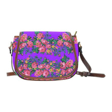Kokum's Revenge-Lilac Saddle Bag/Large (Model 1649) Saddle Bag/Large e-joyer
