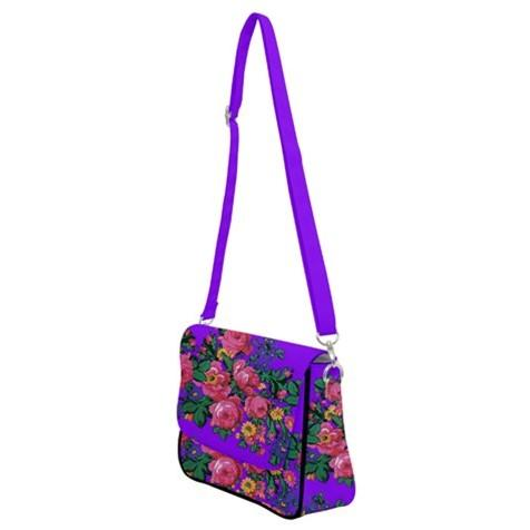 Kokum's Revenge Lilac Shoulder Bag with Back Zipper 49 Dzine