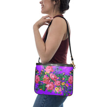 Kokum's Revenge-Lilac Small Shoulder Bag (Model 1710) Small Shoulder Bag (1710) e-joyer