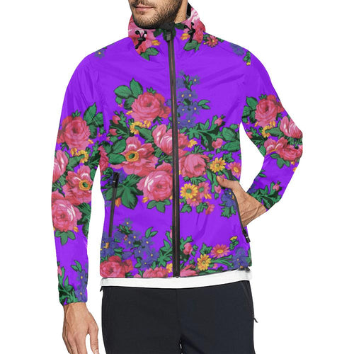 Kokum's Revenge Lilac Unisex All Over Print Windbreaker (Model H23) All Over Print Windbreaker for Men (H23) e-joyer
