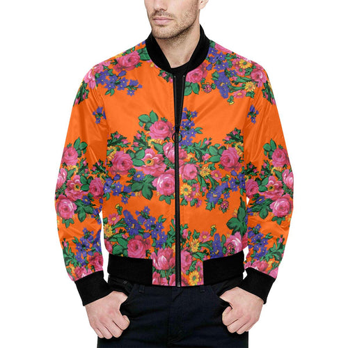 Kokum's Revenge Sierra Unisex Heavy Bomber Jacket with Quilted Lining All Over Print Quilted Jacket for Men (H33) e-joyer