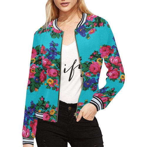 Kokum's Revenge-Sky All Over Print Bomber Jacket for Women (Model H21) All Over Print Bomber Jacket for Women (H21) e-joyer