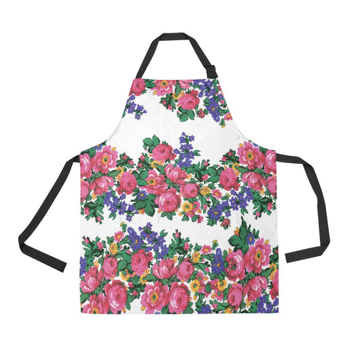 Kokum's Revenge White All Over Print Apron All Over Print Apron e-joyer