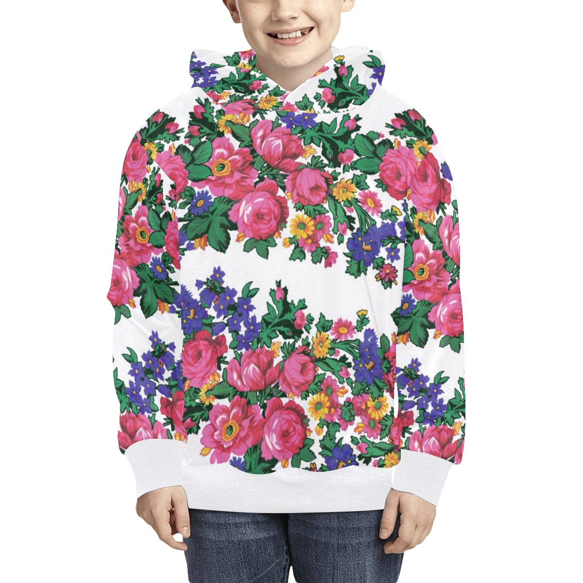 Kokum's Revenge White Kids' All Over Print Hoodie (Model H38) Kids' AOP Hoodie (H38) e-joyer