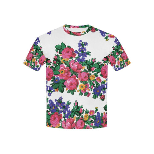 Kokum's Revenge-White Kids' All Over Print T-shirt (USA Size) (Model T40) All Over Print T-shirt for Kid (T40) e-joyer