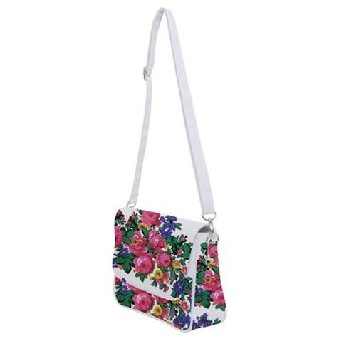 Kokum's Revenge White Shoulder Bag with Back Zipper 49 Dzine
