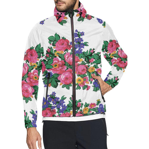Kokum's Revenge White Unisex All Over Print Windbreaker (Model H23) All Over Print Windbreaker for Men (H23) e-joyer
