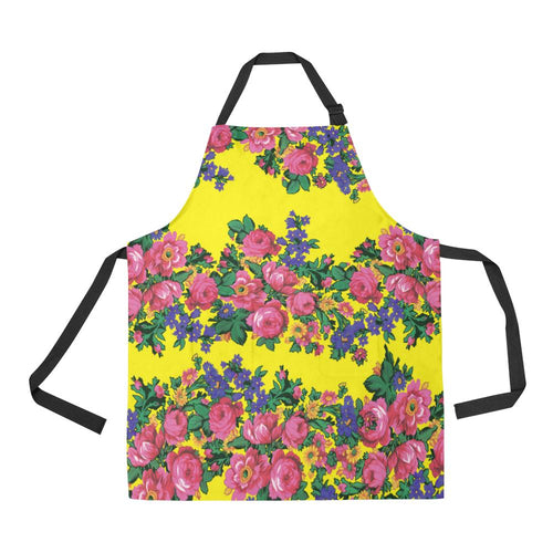 Kokum's Revenge Yellow All Over Print Apron All Over Print Apron e-joyer