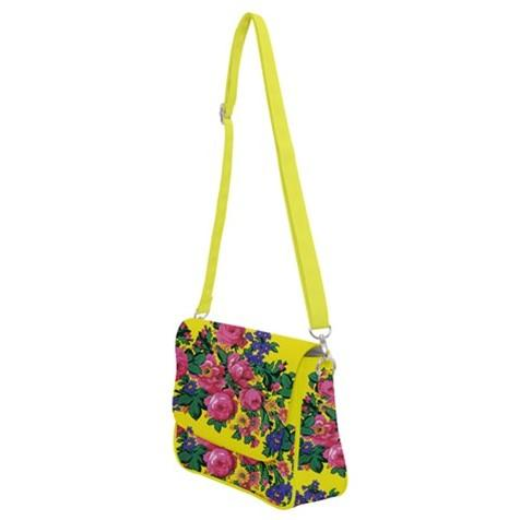 Kokum's Revenge Yellow Shoulder Bag with Back Zipper 49 Dzine