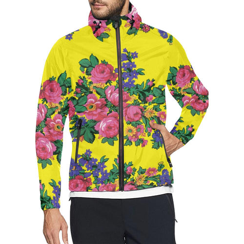 Kokum's Revenge Yellow Unisex All Over Print Windbreaker (Model H23) All Over Print Windbreaker for Men (H23) e-joyer