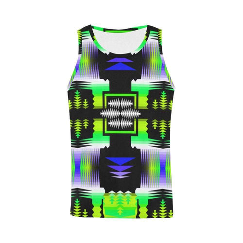 Lake Breeze Sage All Over Print Tank Top for Men (Model T43) All Over Print Tank Top for Men e-joyer