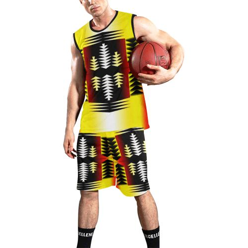 Medicine Wheel Sage All Over Print Basketball Uniform Basketball Uniform e-joyer