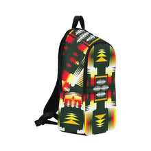 Medicine Wheel Sage Fabric Backpack for Adult (Model 1659) Casual Backpack for Adult (1659) e-joyer