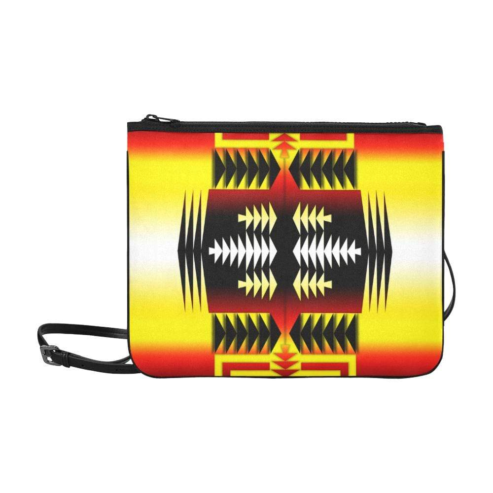 Medicine Wheel Sage II Slim Clutch Bag (Model 1668) Slim Clutch Bags (1668) e-joyer