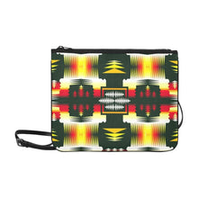 Medicine Wheel Sage Slim Clutch Bag (Model 1668) Slim Clutch Bags (1668) e-joyer