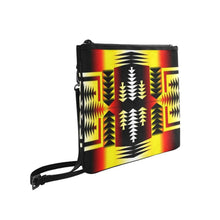 Medicine Wheel Strips Basketball Slim Clutch Bag (Model 1668) Slim Clutch Bags (1668) e-joyer