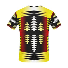Medicine Wheel Tribal Sage All Over Print T-Shirt for Men (USA Size) (Model T40) All Over Print T-Shirt for Men e-joyer