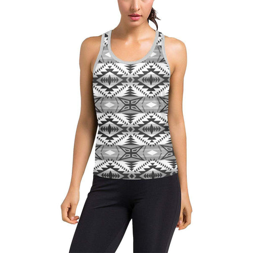 Mesa War Party Women's Racerback Tank Top (Model T60) Racerback Tank Top (T60) e-joyer