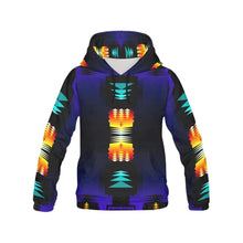 Midnight Sage Fire II All Over Print Hoodie for Men (USA Size) (Model H13) All Over Print Hoodie for Men e-joyer