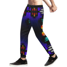 midnight sage fire II Men's All Over Print Sweatpants (Model L11) Men's All Over Print Sweatpants (L11) e-joyer