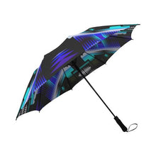 Midnight Sage Semi-Automatic Foldable Umbrella Semi-Automatic Foldable Umbrella e-joyer