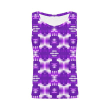Moon Shadow Sage All Over Print Tank Top for Women (Model T43) All Over Print Tank Top for Women e-joyer