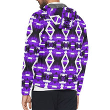 Moon Shadow Winter Camp All Over Print Windbreaker for Men (Model H23) All Over Print Windbreaker for Men (H23) e-joyer