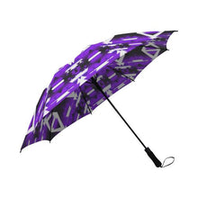 Moon Shadow Winter Camp Semi-Automatic Foldable Umbrella Semi-Automatic Foldable Umbrella e-joyer