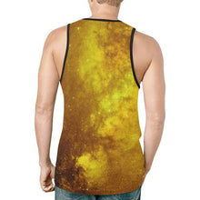 Native Man Gold New All Over Print Tank Top for Men (Model T46) New All Over Print Tank Top for Men (T46) e-joyer