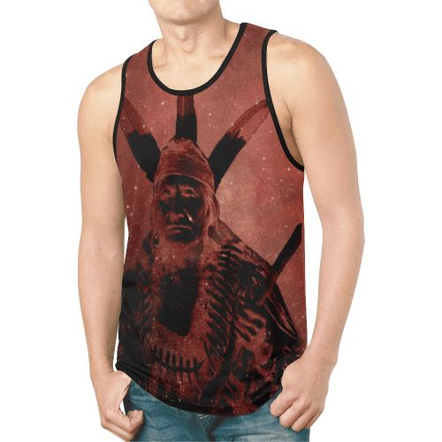 Native Man Sierra New All Over Print Tank Top for Men (Model T46) New All Over Print Tank Top for Men (T46) e-joyer