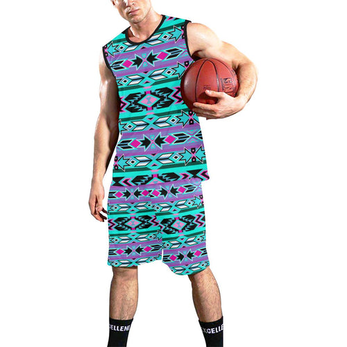 Northeast Journey All Over Print Basketball Uniform Basketball Uniform e-joyer