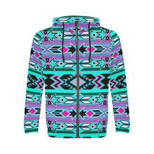 Northeast Journey All Over Print Full Zip Hoodie for Men (Model H14) All Over Print Full Zip Hoodie for Men (H14) e-joyer