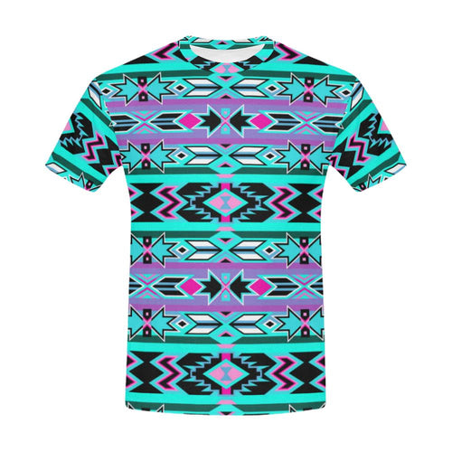 Northeast Journey All Over Print T-Shirt for Men (USA Size) (Model T40) All Over Print T-Shirt for Men (T40) e-joyer