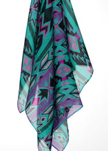 Northeast Journey Large Square Chiffon Scarf fashion-scarves 49 Dzine