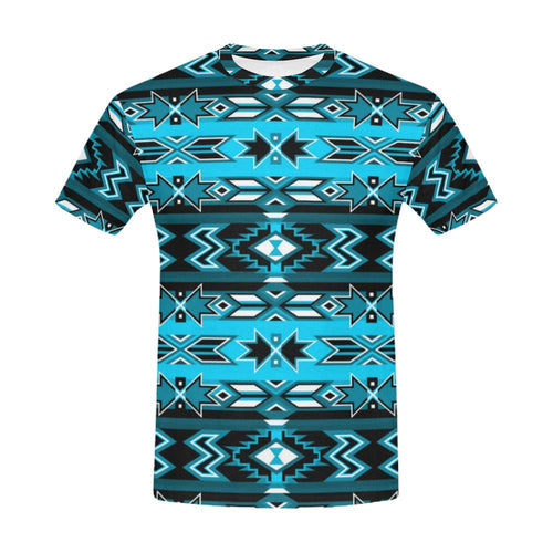 Northern Journey All Over Print T-Shirt for Men (USA Size) (Model T40) All Over Print T-Shirt for Men (T40) e-joyer