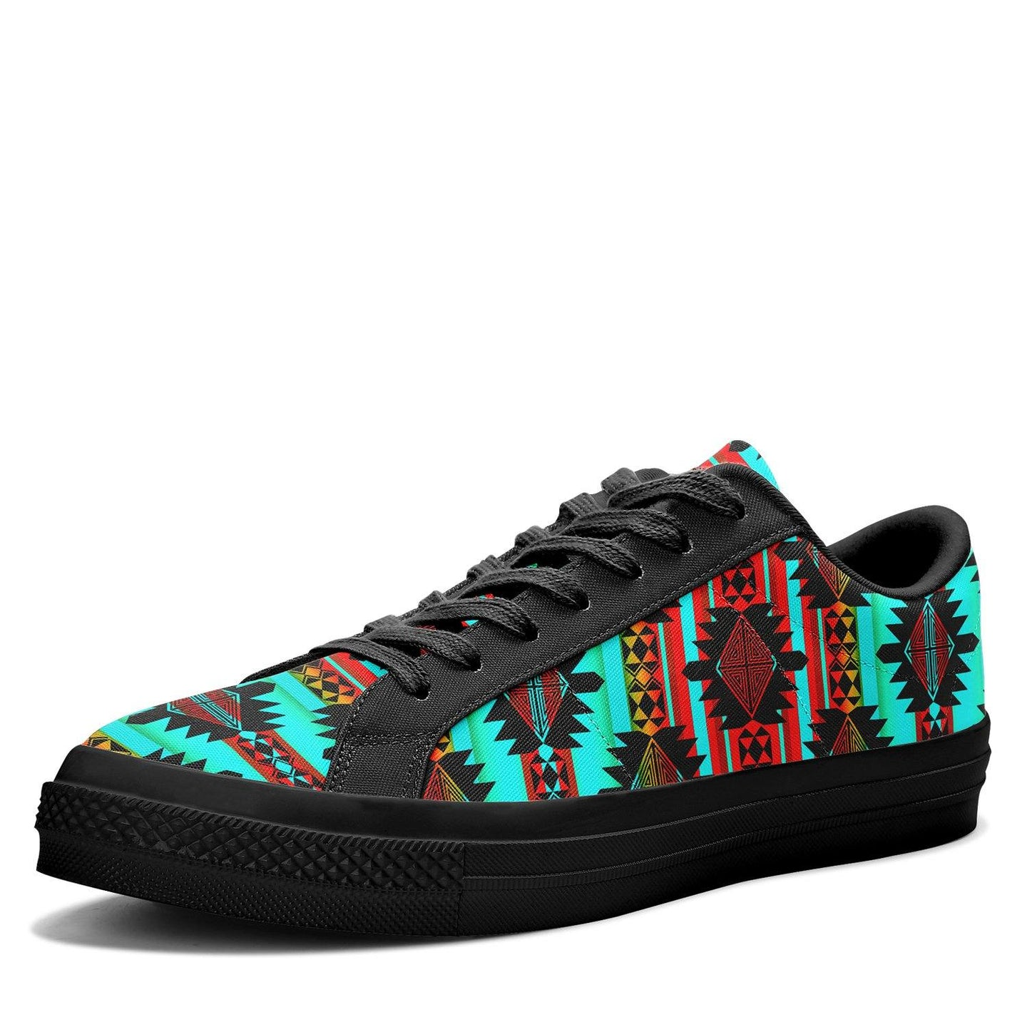 Okotoks Arrow Aapisi Low Top Canvas Shoes Black Sole 49 Dzine
