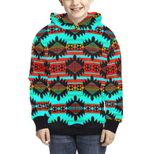 Okotoks Arrow Kids' All Over Print Hoodie (Model H38) Kids' AOP Hoodie (H38) e-joyer