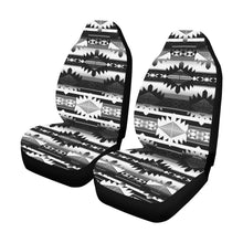 Okotoks Black and White Car Seat Covers (Set of 2) Car Seat Covers e-joyer