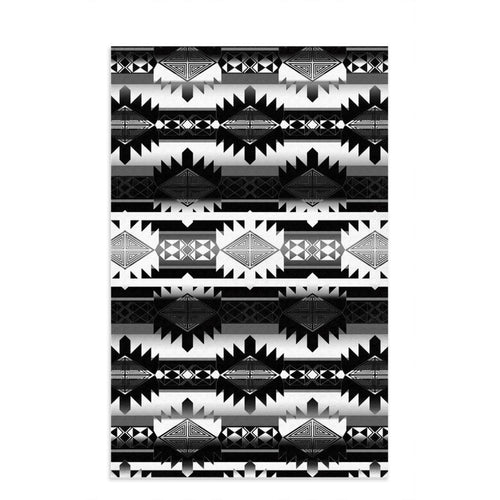 Okotoks Black and White Dish Towel 49 Dzine 16x25 inch