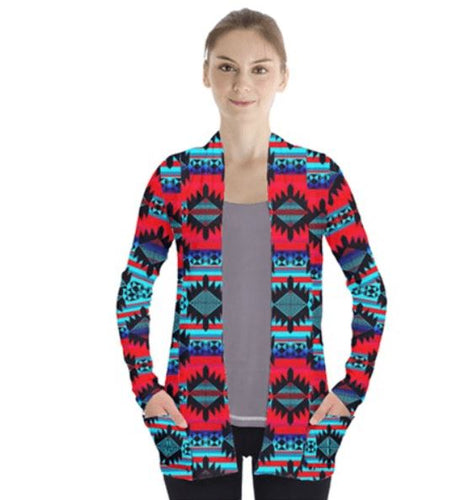 Okotoks Mountain Open Front Pocket Cardigan 49 Dzine