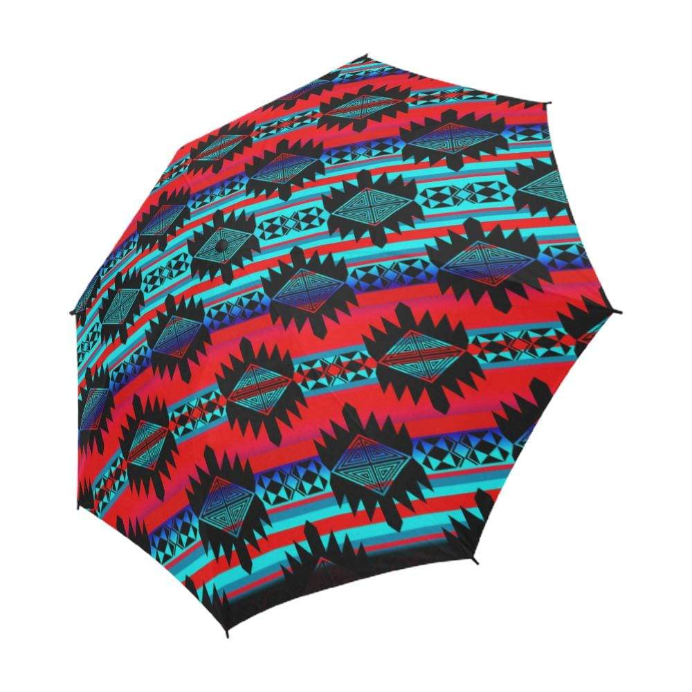 Okotoks Mountain Semi-Automatic Foldable Umbrella Semi-Automatic Foldable Umbrella e-joyer