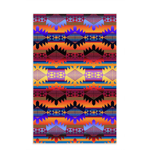 Okotoks Mountains Dish Towel 49 Dzine 16x25 inch