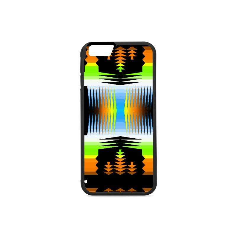 Orange and Green Sage III iPhone 6/6s Case iPhone 6/6s Rubber Case e-joyer