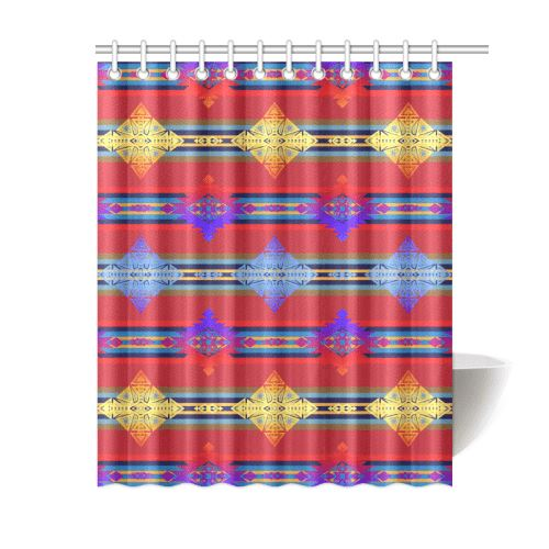 Plateau Gathering Shower Curtain 60